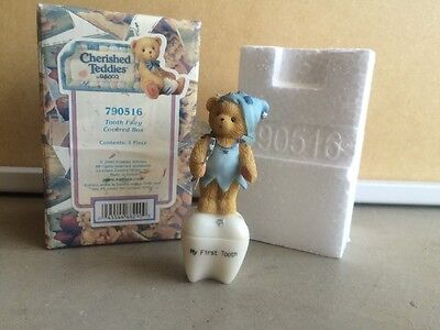 Cherished Teddies - Tooth Fairy Covered Box - 790516 - 2000
