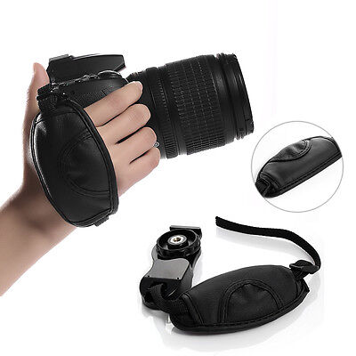 DSLR Camera Leather Grip Wrist Hand Strap Universal for Canon Nikon Sony Olympus