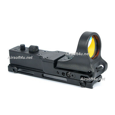 C-MORE Style Scope In Black red dot sight 20mm Rail airsoft IPSC for Airsoft
