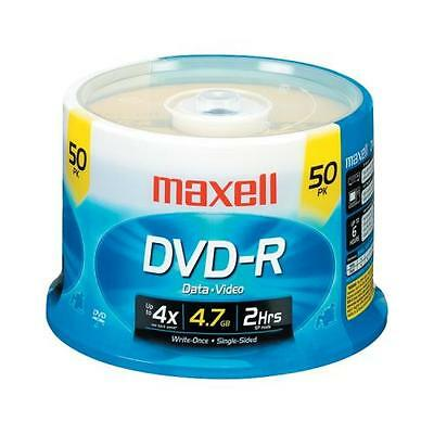 Maxell 635053/638011 Dvd-R - Spindle 50 Ct