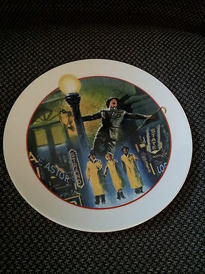 """1986 Avon Collector Plate - Images Of Hollywood - """"Singin' In The Rain"""""""