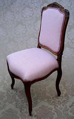 Antique French Louis Xv Style Carved Side Chair