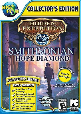 Big Fish: Hidden Expedition 6: The Smithsonian's Hope Diamond - PC Game - New