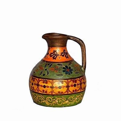 Silkroute PST1511A Akhil Terra Cotta Vase With Handle (L)