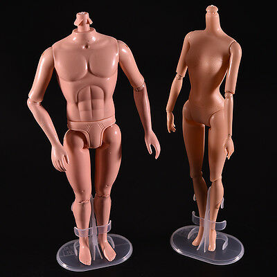 1X Toy Stand Support Barbies Transparent Kids Doll Dress Clothes Accessories EV