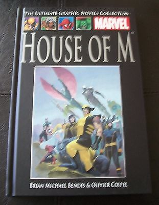 The Ultimate Graphic Novels Collection, No 40 - HOUSE OF M - MARVEL DC
