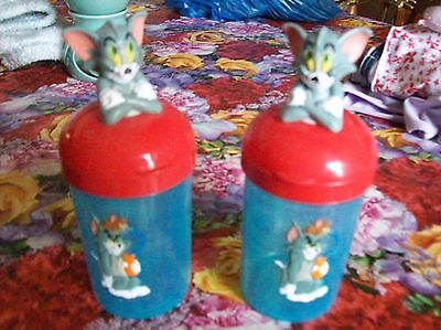 2 Tom & Jerry childs drinking cups