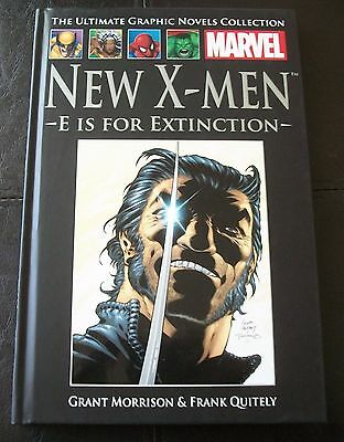 Ultimate Graphic Novels Collection, No 23 NEW X-MEN, E IS FOR EXTINCTION MARVEL