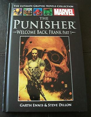 Ultimate Graphic Novels Collection, No 18 THE PUNISHER WELCOME BACK FRANK PART 1