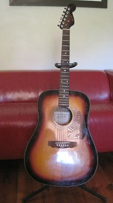 Daion Acoustic Guitar 6 string + stand