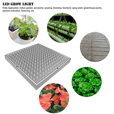14W LED Hydroponic Plant Grow Light Panel Full Spectrum Indoor Growing Lamp Blue