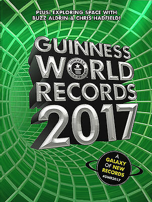 Guinness World Records 2017 - New Hardcover Book - Free Fast Shipping