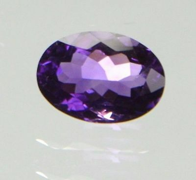Cts. 5.95 OVAL NATURAL AAA FLAWLESS PURPLE AFRICAN AMETHYST LOOSE GEMSTONE
