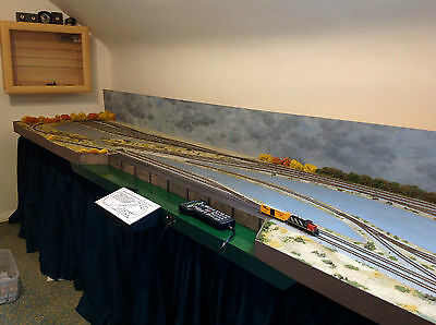N Gauge layout 12 foot by 2.6 feet. Professional build. Hardly used. £799.00