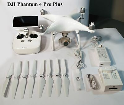 Genuine DJI Phantom 4 Pro Plus RC Drone with True 4K Camera + 7Km Fly Distance