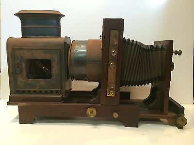 Antique Majic Lantern/Enlarger made by W Butcher & Sons in England