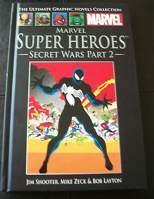 The Ultimate Graphic Novels Collection, No 7 SUPER HEROES - SECRET WARS PART 2