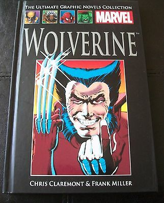 The Ultimate Graphic Novels Collection, No 4 - WOLVERINE - MARVEL DC