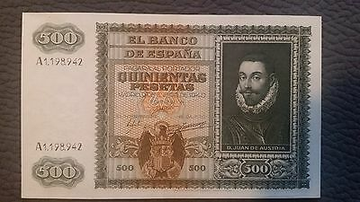 Billete 500 pesetas 1940 EBC+