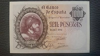 Billete 1000 pesetas 1940 en EBC+