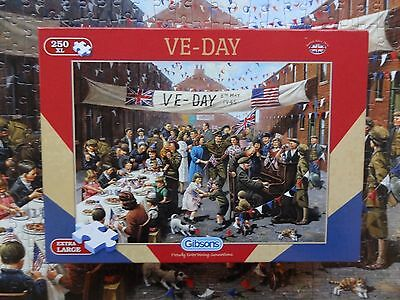 Gibsons 250 XL Pieces  -  VE Day