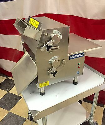 "Somerset CDR-1500 Dough Roller compact 15"" Pizza Sheeter Machine Acme Anets"