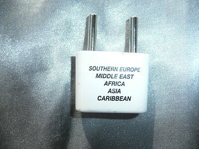 Reise Adapter Stromadapter Southern Europe Middle East Africa Asia Caribbean
