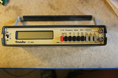 Thurlby Thandar TF 200 frequency counter
