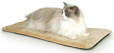 K&H Thermo Kitty Mat - Mocha - 32cm x 64cm