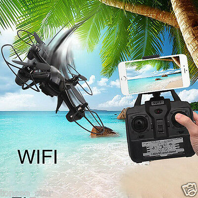DM003 Drone 2.4G 4CH 6-Achse Mini RC Gyro Quadcopter with 0.3MP WIFI HD Kamera