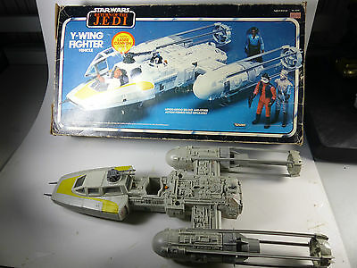 Vintage Star Wars Kenner Mexico Y-Wing in Return of the Jedi  Box