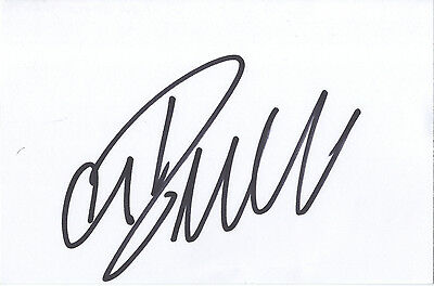Cristiano Ronaldo - 'Manchester United F.C.& Real Madrid ' In Person Signed Card