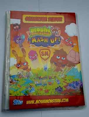 Moshi Monsters Mash Up Collection Binder with Approx 140 Trading Cards