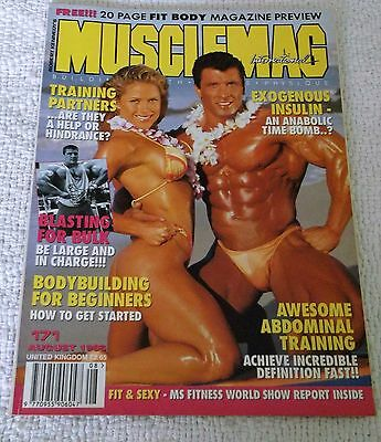 MUSCLEMAG INTERNATIONAL MAGAZINE No. 171 AUGUST 1996