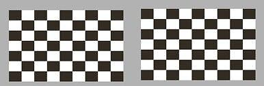 2x CHEQUERED FLAG DECALS / STICKERS