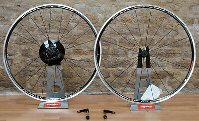 New 2016 Fulcrum Racing Sport Road Clincher Wheelset,  Shimano 9/10/11 speed