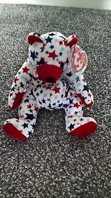 TY Beanie Babies Red the Bear