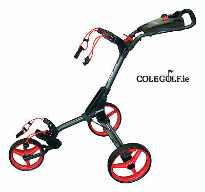 Skymax Cube 3 Wheel Trolley - Black/Red