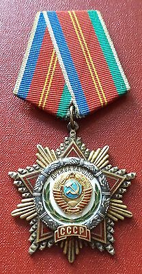 Soviet Russian Order of Friendship between the Nations #43861 medal badge