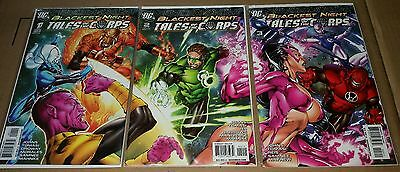 Blackest night tales of the corps # 1 2 3 NM