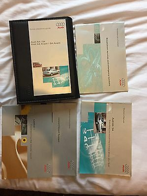 Audi A4/S4 Owners Handbook/Manual and Wallet