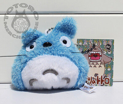 My Neighbor Totoro Blue Plush Soft Toy Key Ring Keyring *UK Seller* Brand New