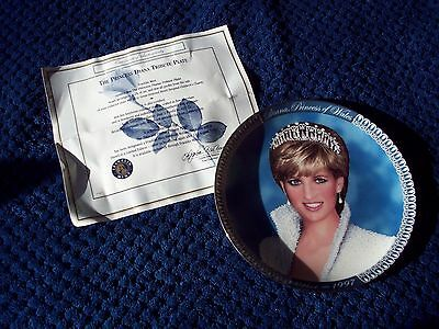 Franklin Mint 'diana Princess Of Wales Tribute Plate'