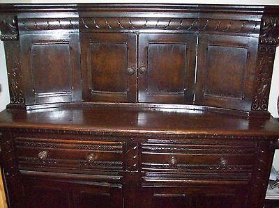 Antique Mahogany Welsh Dresser