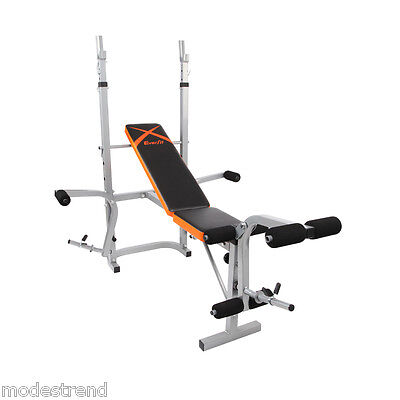 Adjustable Home Gym Multi-station Weight Bench Press Incline Barbell AB Exercise