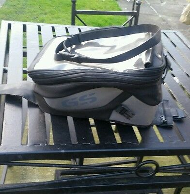 2004 bmw r1200gs genuine BMW tank bag and fitrings
