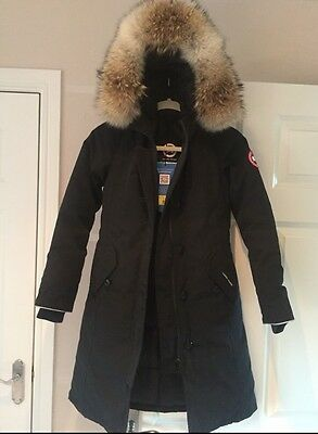 Canada Goose Coat Child's Black Age 10/12 Years Bnwts Rrp £500