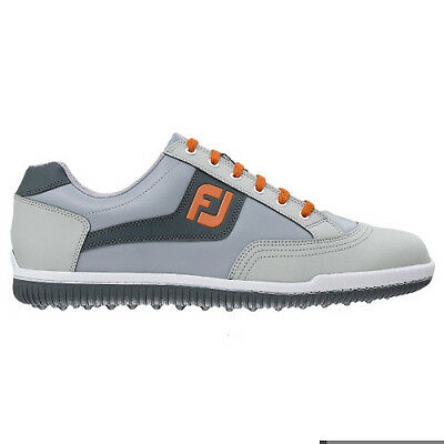 Footjoy Mens AWD Casual Golf Shoes #57888 / Grey-Orange / UK 6.5 Medium 2015