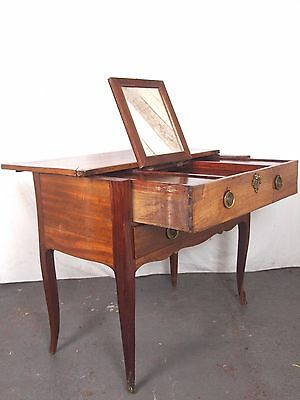 An Antique 19th Century French Fold Out Dressing Table ~Can Deliver~