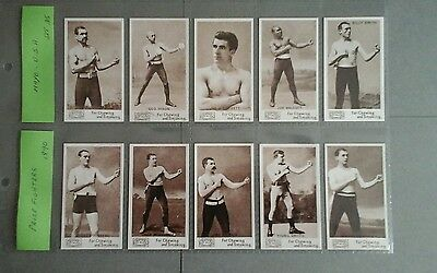 Mayo Prize Fighters  Full Set Mint condition in Sleeves ( Repro )